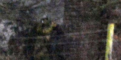 """Al momento de encontrarse ahí no notó nada raro. Sin embargo, al revisar las fotos con detenimiento en su casa, observó una figura extraña. """"Todavía no sé qué pensar respecto a esta toma, parece un hombre con casco. Parece ser un soldado anglosajón"""", mencionó el fotógrafo Jamie, de 22 años, al diario británico """"Mail One"""". Foto:Vía Jimie Brassington/Expressandstar"""