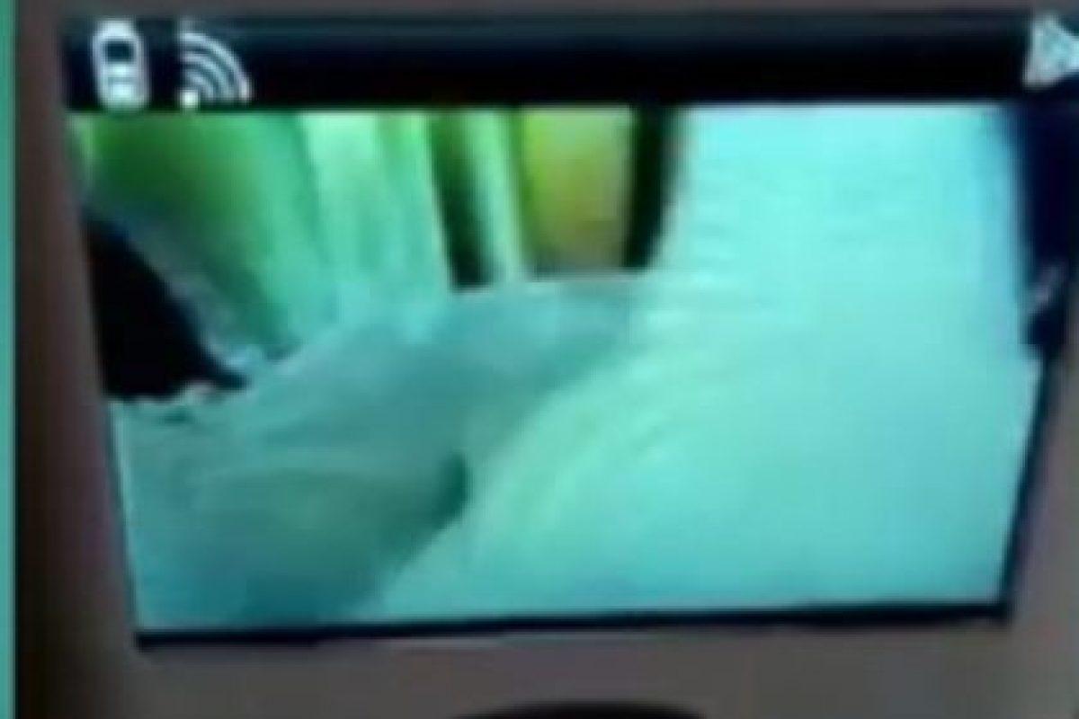 3. El ente que se posó en la cuna de una recién nacida. Foto:Vía Youtube