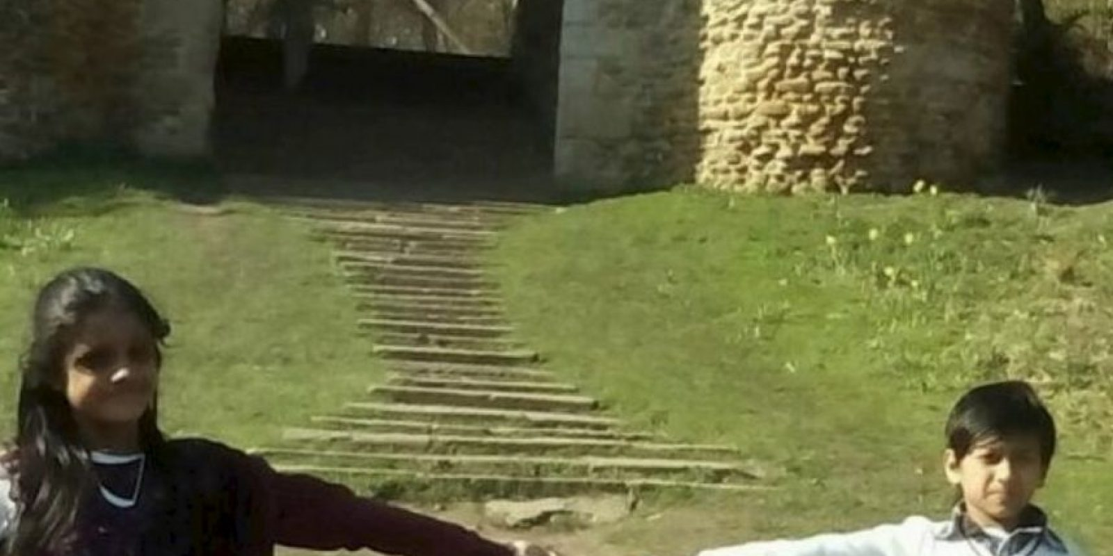 8. Una familia se encontraba de visita en Roundhay Park en Inglaterra, sin embargo, nunca pensaron que un intruso los acompañaba. Foto:Vía Yorkeshire