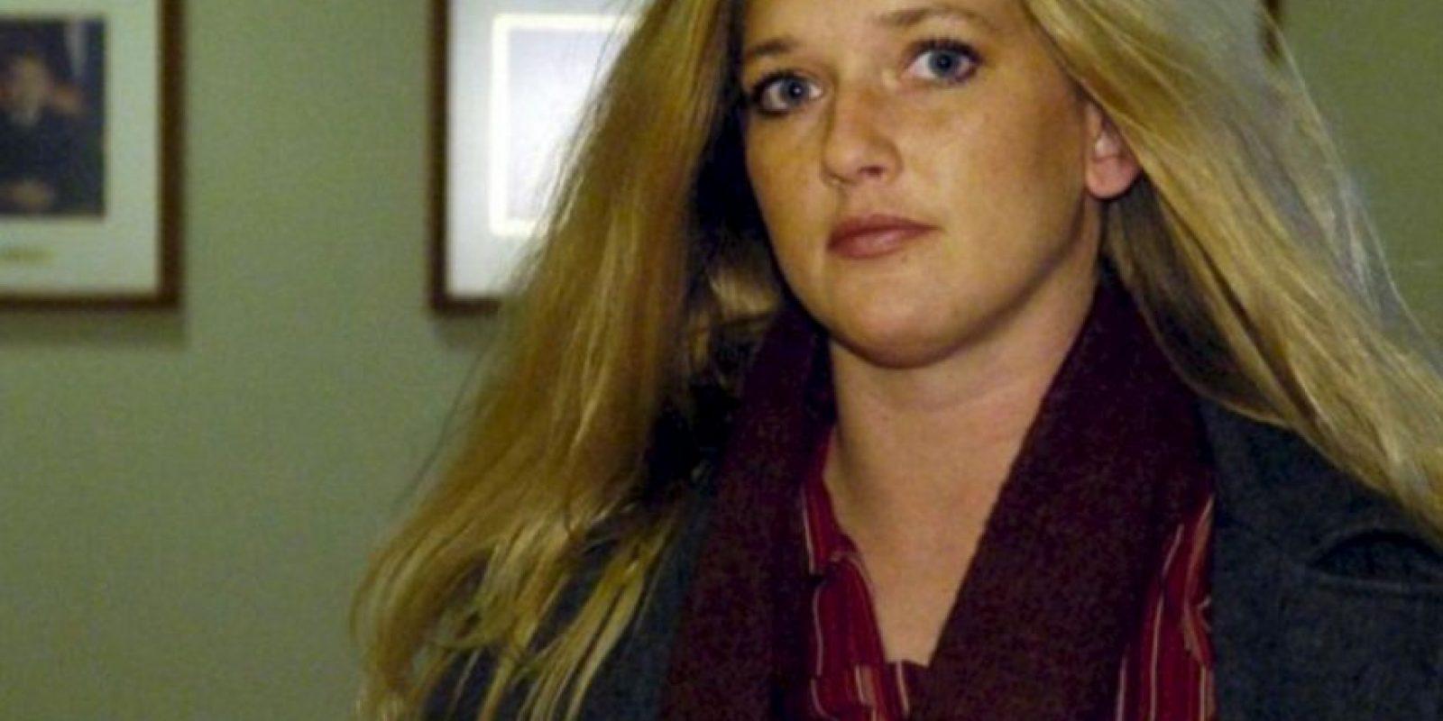 También fue acusada de tener sexo con un estudiante de 17 años. Foto:AP