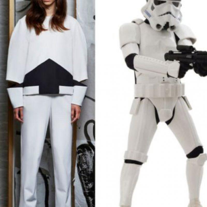 Edeline Lee crea contrastes y patrones basada en los Stormtroopers. Foto:vía Instagram