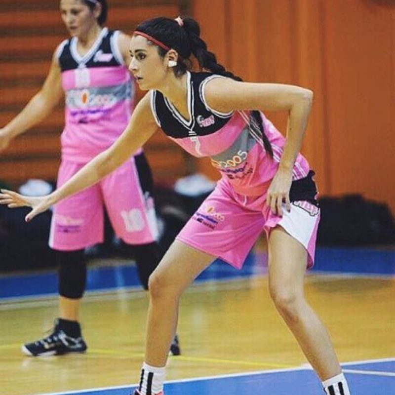 La italiana de 24 años juega en el Nico Basket Massa e Cozzile Foto:Vía instagram.com/valentinavignali