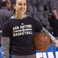 Mención honorífica merece la retirada jugadora de la WNBA y ahora coach asistente de los San Antonio Spurs Foto:instagram.com/officialbeckyhammon
