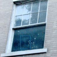 2. El también usuario de Reddit, DoodleJack, asegura que un fantasma se paseaba en su habitación. Foto:Vía Imgur