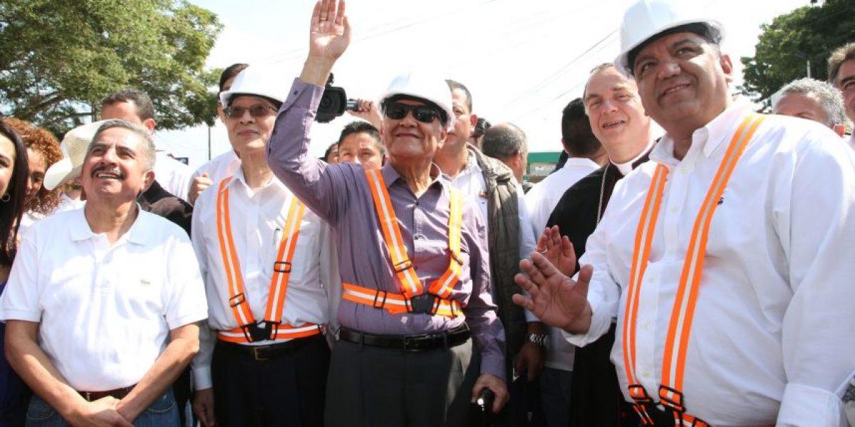 Inauguran trabajos en carretera al Atlántico