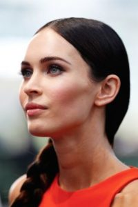 Megan Fox con maquillaje Foto: Getty Images