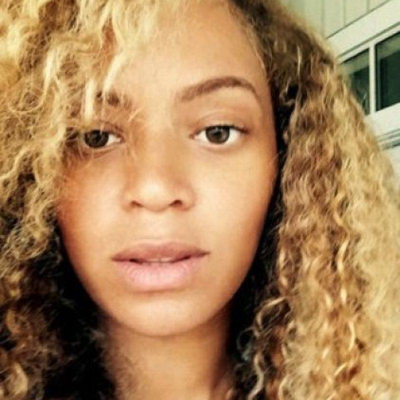 Beyoncé sin maquillaje Foto:vía instagram.com/beyonce