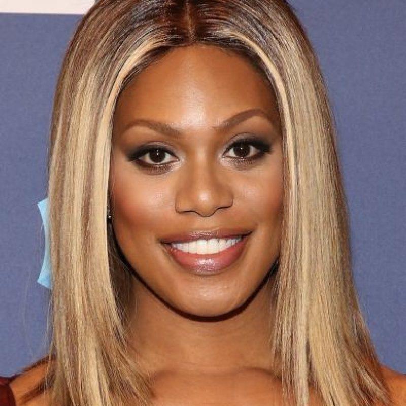Laverne Cox con maquillaje Foto:Getty Images