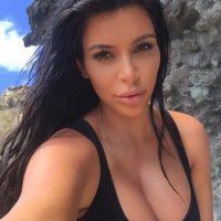 El crecimiento de sus labios Foto:Instagram/kimkardashian