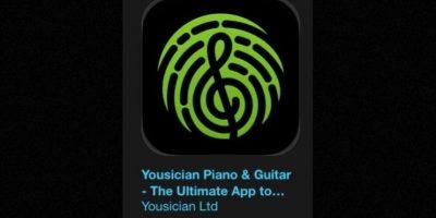"""19- """"Yousician Piano & Guitar – The Ultimate App to Learn Songs"""". Es gratuita. Se trata de un tutor personal de música para la era digital. Foto:Apple"""