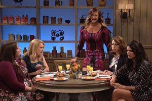 Chris Hemsworth impresionó a más de uno al aparecer vestido de mujer Foto:NBC
