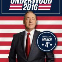 "El póster de la cuarta temporada de ""House of Cards"". Foto:twitter.com/HouseofCards"