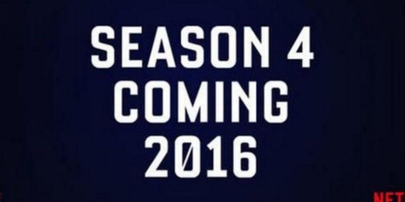 """La nueva temporada de """"House of Cards"""" se estrenará el 4 de marzo próximo. Foto:twitter.com/HouseofCards"""