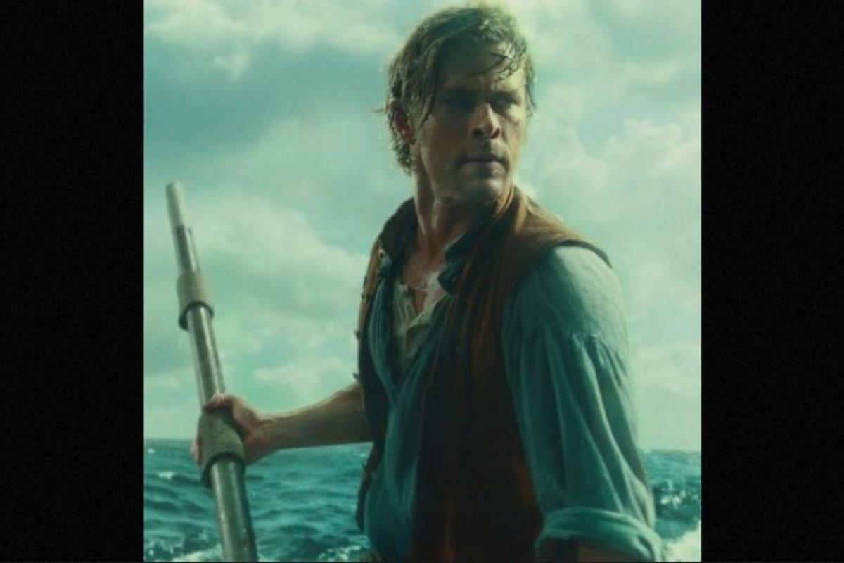 En la cinta interpreta a un cazador de ballenas Foto:Warner Bros