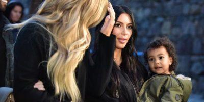 """Khloé Kardashian fue la madrina de bautizo de """"Nori"""". Foto:AFP"""