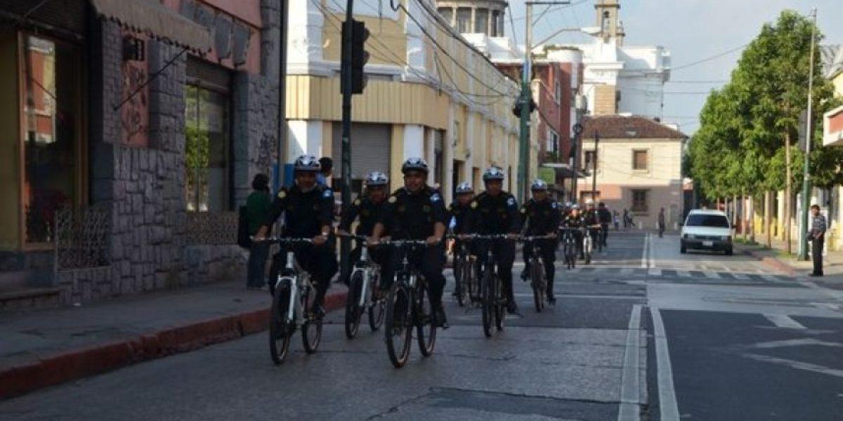 """Gobernación inaugura programa """"Policías en bicicleta"""""""