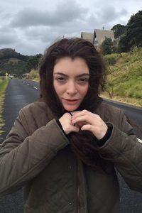 Lorde sin maquillaje Foto:vía instagram.com/lorde