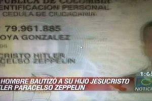 Jesucristo Hitler Paracelso Zeppelin Foto:Recreoviral