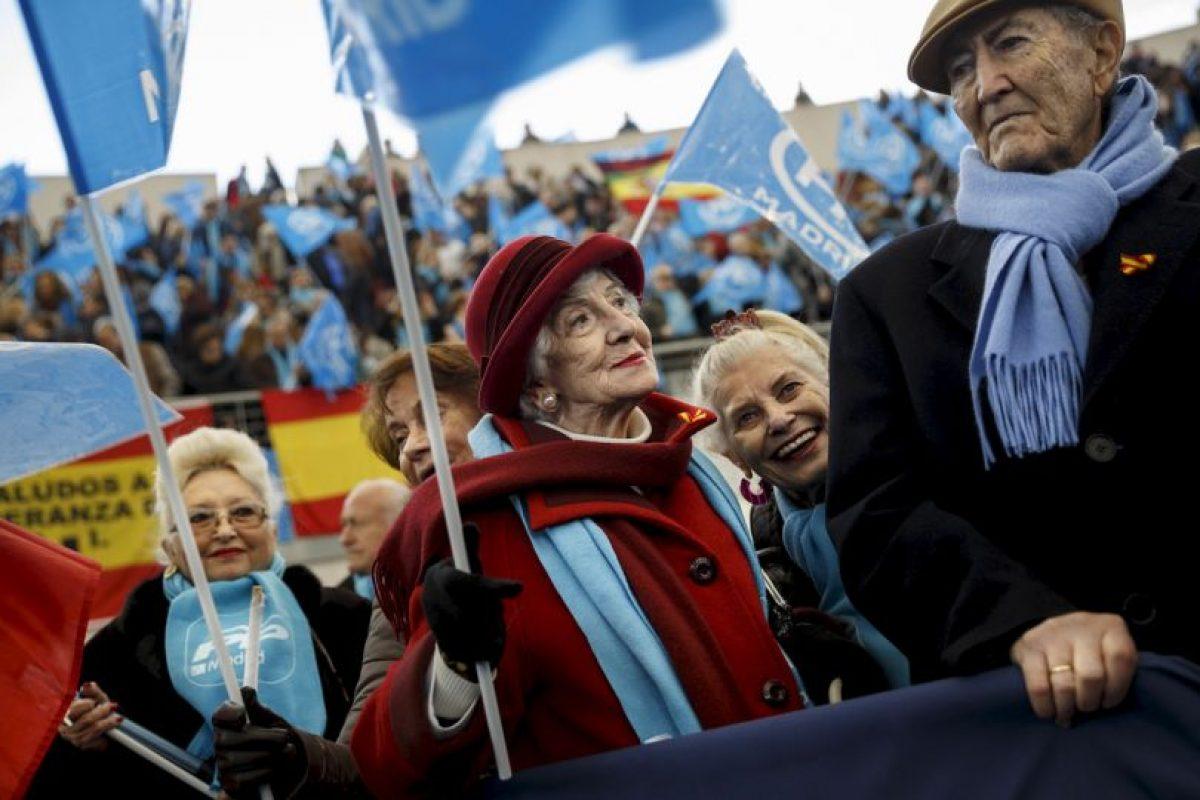Sus contrincantes son Pedro Sánchez ,secretario general del Partido Socialista Obrero, Albert Rivera, del Partido Ciudadanos y Pablo Iglesias del Partido Podemos. Foto:AP