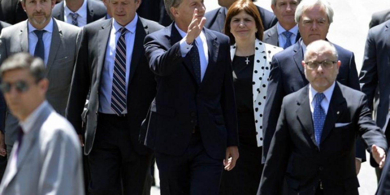 """""""Hay un sendero a una economía estable, para mejorar el andamiaje institucional y dar un paso más para la normalización de la economía"""", señaló. Foto:AFP"""