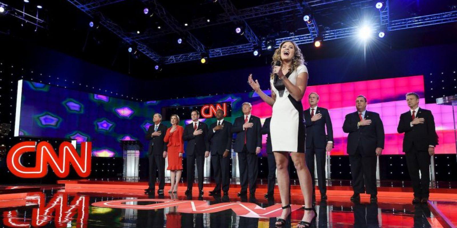 Las opiniones de los candidatos respecto a los temas principales eran muy variables. Foto:AFP