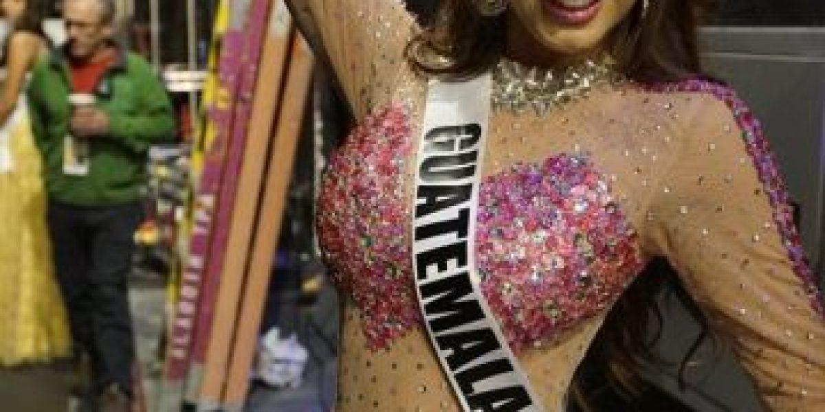 Miss Guatemala brilla con este traje de gala