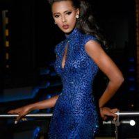 Lorraine Marriot es Miss Tanzania Foto:vía facebook.com/MissUniverse
