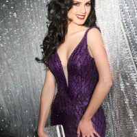 María Belén Jerez es Miss Chile Foto:vía facebook.com/MissUniverse