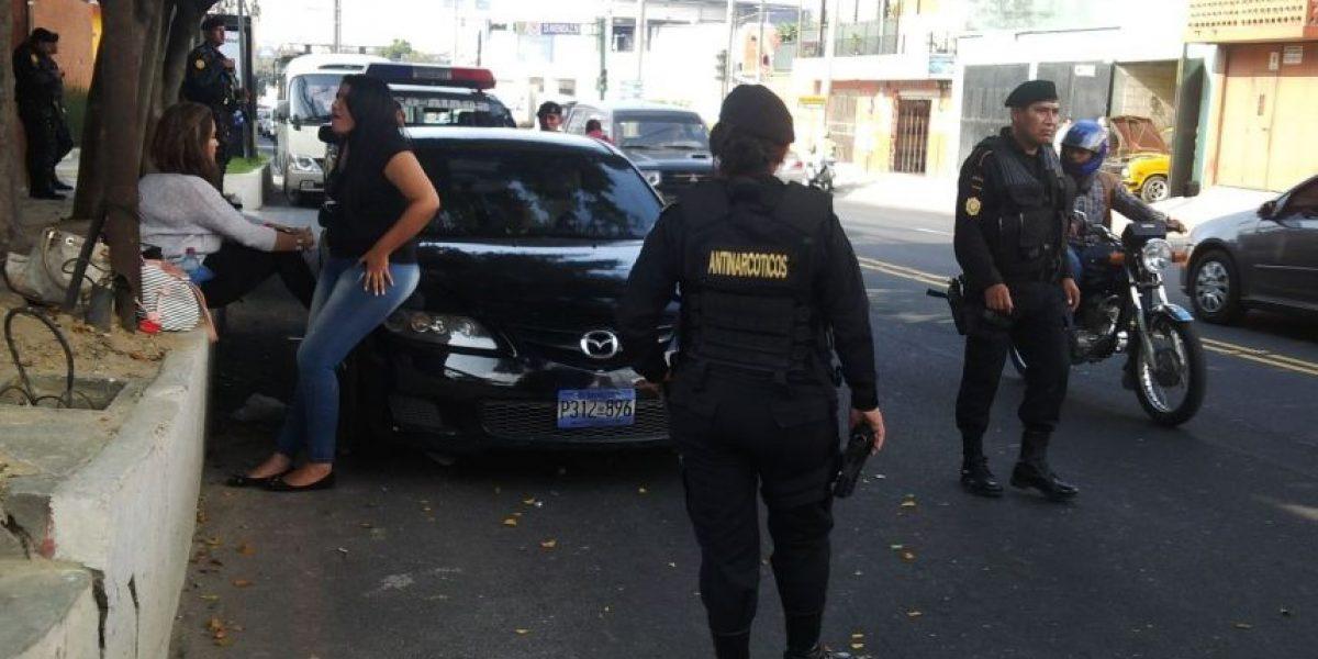 Tres mujeres y sus guardaespaldas transportaban casi US$1 millón en auto de El Salvador