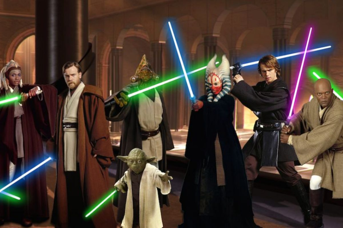 """Y ellos, son del """"lado luminoso"""" de la fuerza. Foto:Star Wars Wiki"""