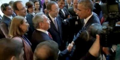 """""""Las estrellas y las rayas vuelan de nuevo sobre La Habana"""": Barack Obama"""