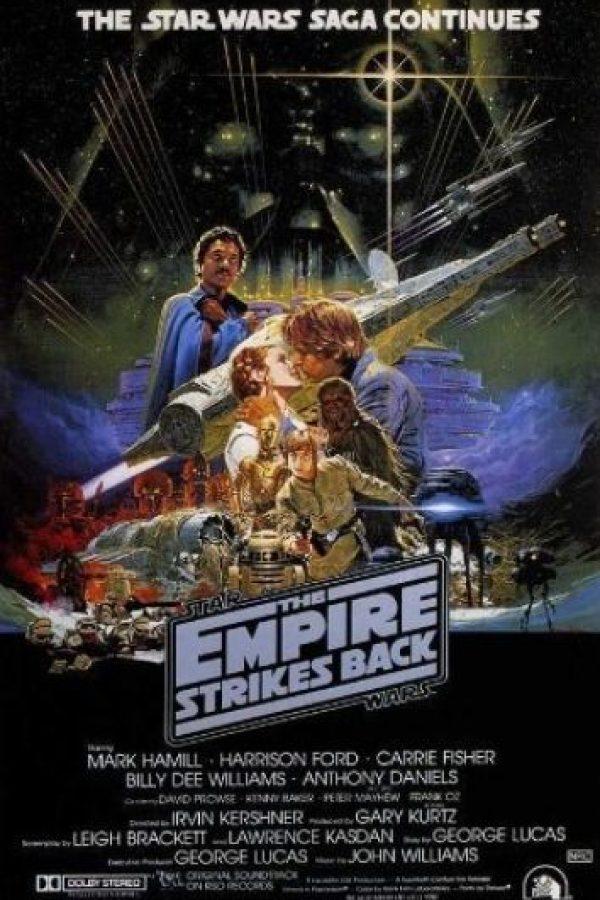 """""""Star Wars Episodio V: El imperio contraataca"""" se estrenó el 21 mayo de 1980. Foto:IMDb"""