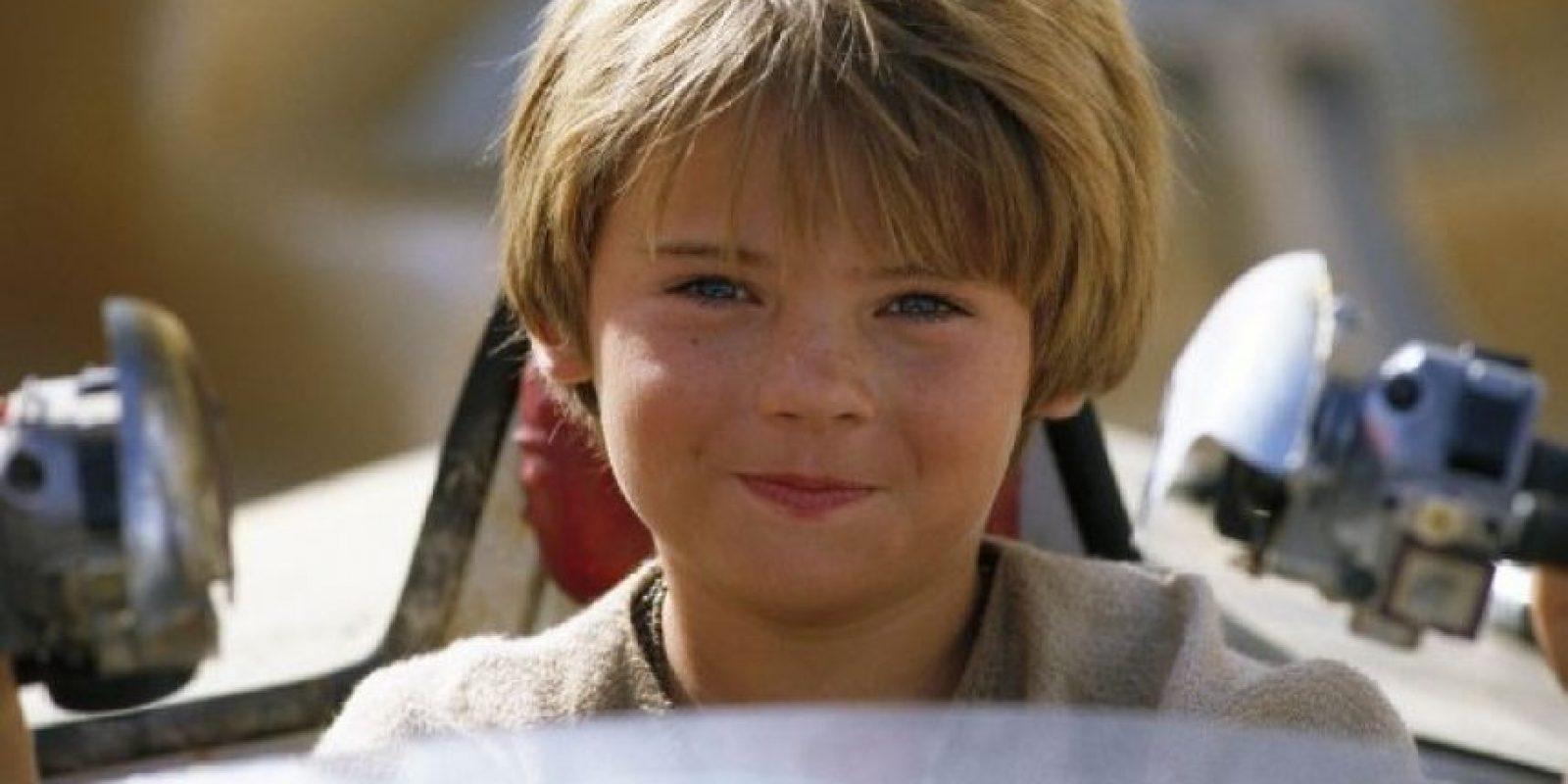 """""""Anakin Skywalker"""" en """"Star Wars: La amenaza fantasta"""" Foto:IMDb"""