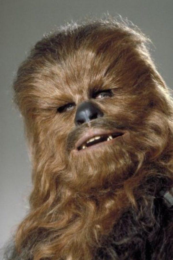 """""""Chewbacca"""" en Star Wars: Una nueva esperanza"""" Foto:IMDb"""