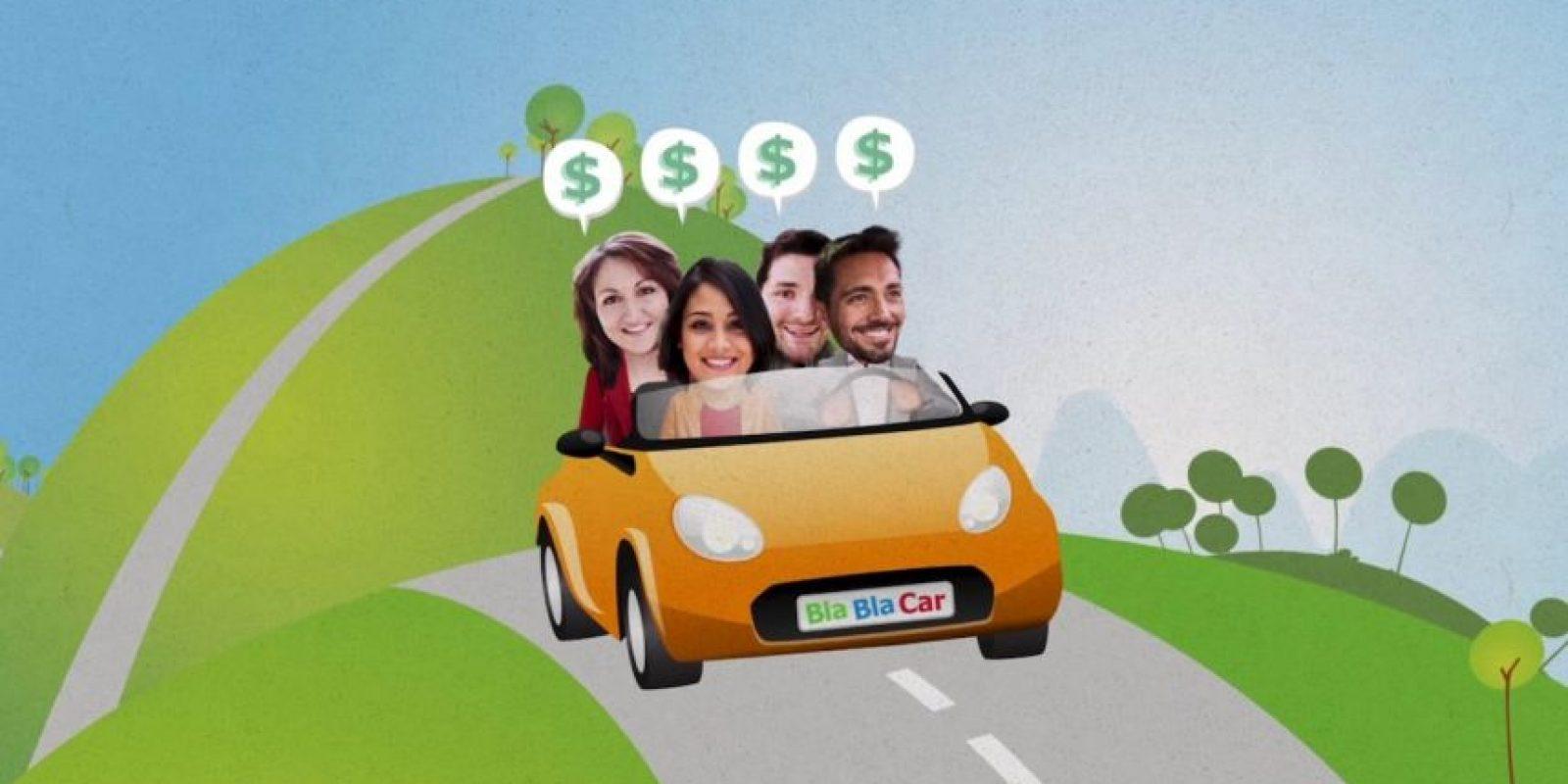 Todos comparten los gastos. Foto:vía BlaBlaCar
