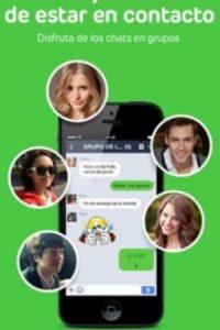 Las llamadas y videollamadas son gratuitas, cuenta con una función de Timeline, entre otras características. Foto:Naver Japan