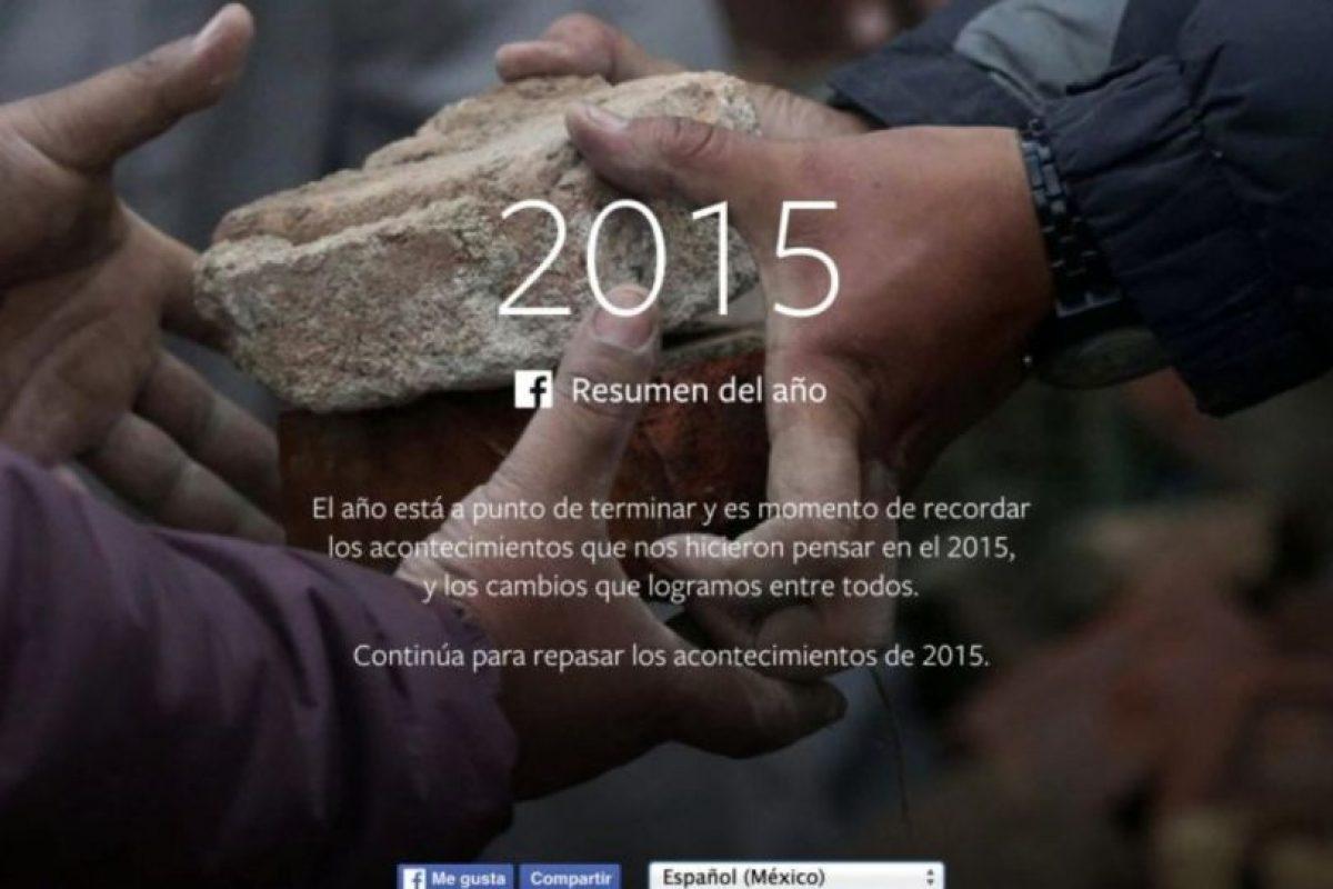 En seguida les mostramos lo más popular en la red social durante 2015. Foto:vía facebook.com