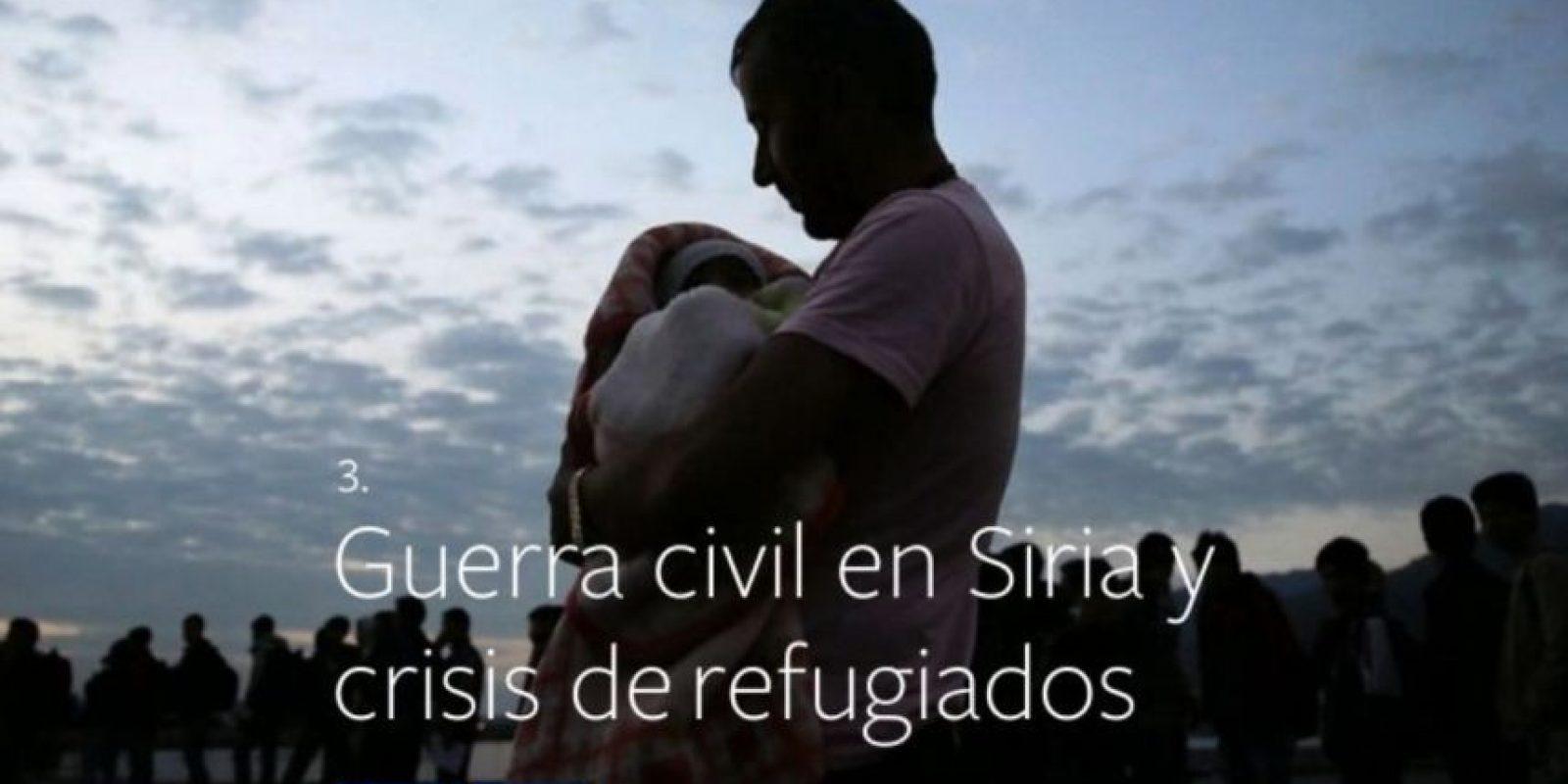 3- Guerra civil en Siria y crisis de refugiados. Foto:vía facebook.com