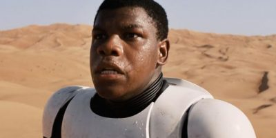 Finn interpretado por John Boyega (episodio VII). Foto:Publinews