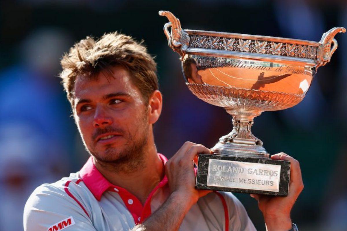 """En 2010, el tenista suizo abandonó a su esposa Ilham Vuilloud y a su hija de sólo siete meses, por considerarlas un """"obstáculo"""" para su carrera. Como explicación le dijo a su hoy expareja que quería triunfar en el tenis y debía dejar todo para lograrlo. Foto:Getty Images"""