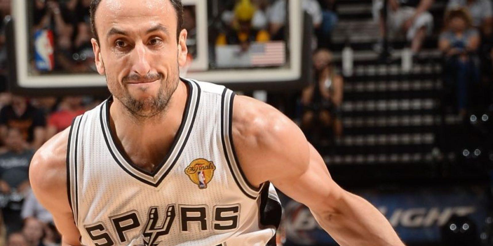 Emanuel Ginóbili, jugador de baloncesto argentino. Foto:Publinews
