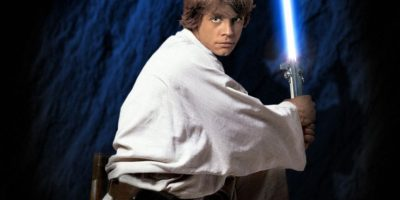 Luke Skywalker interpretado por Mark Hamill (episodios IV al VII). Foto:Publinews