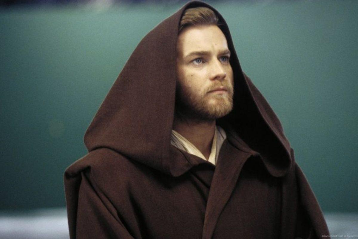 Obi Wan Kenobi interpretado por Ewan McGregor (episodios I al III). Foto:Publinews