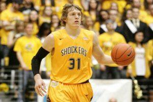 Ron Baker, jugador de baloncesto de la Universidad de Wichita State. Foto:Publinews