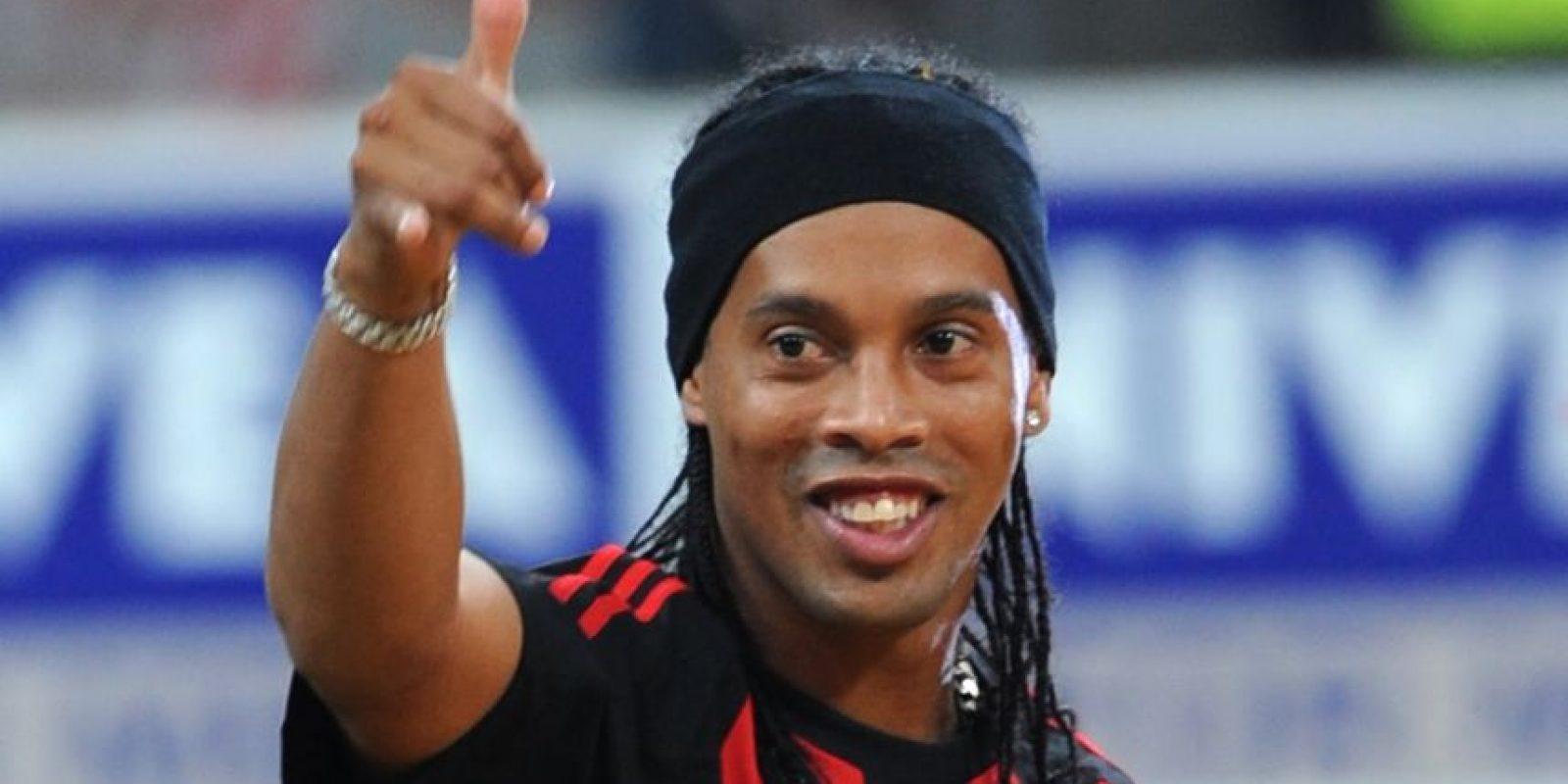 Ronaldinho Gaucho, futbolista brasileño. Foto:Publinews