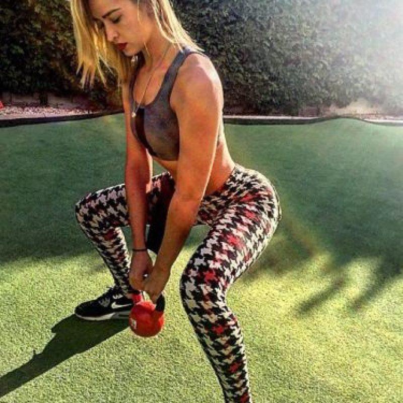 En las redes muestra los ejercicios que la mantienen en forma. Foto:Vía: instagram.com/msmelodyrae