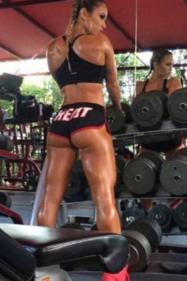 También es adicta al gimnasio y al fitness. Foto:Vía instagram.com/tamradae