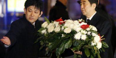Shinzo Abe, primer ministro de Japón. Foto:AFP