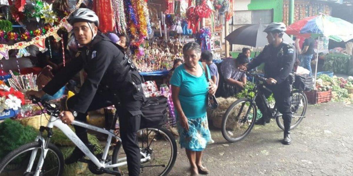 Fotos. El primer patrullaje policial en bicicleta