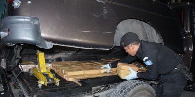 Policía incauta 122 kilos de cocaína en Amatitlán